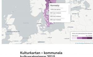 Kultursatsning per inv i Ronneby kommun