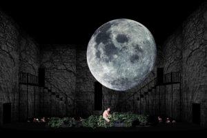 Scenografiskiss Turandot av scenograf Hanna Reidmar.