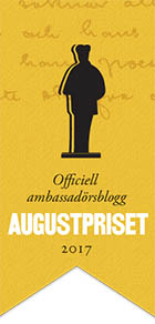 Ambassador for Augustpriset 2017