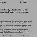 Här är programmet för Kultur i Almedalen