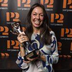 Rigmor Gustafsson vinnare av Guldkatten på P2 Jazzkatten 2018