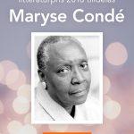 "Grattis Maryse Condé som får ""Nya Akademiens"" litteraturpris"
