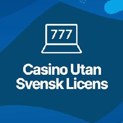 Online casinon utan svensk licens